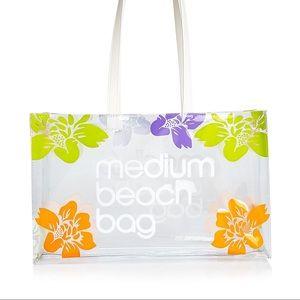 SET Bloomingdale's Medium Beach Bag + Little Bag